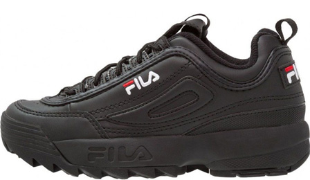 Fila Disruptor 2 All Black