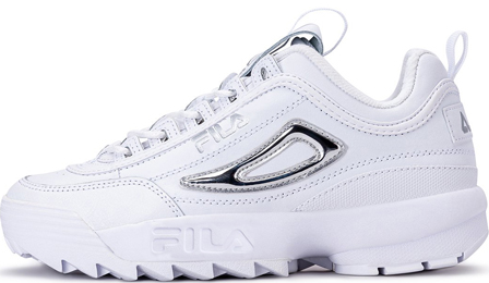 Fila Disruptor 2 Metallic Accent White