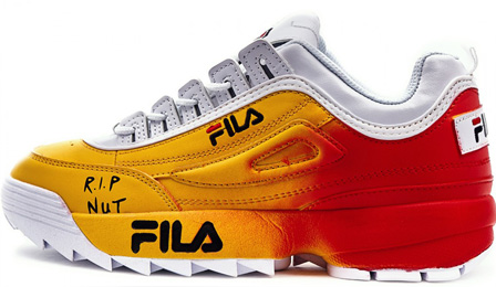 Fila Disruptor 2 White/Red/Yellow