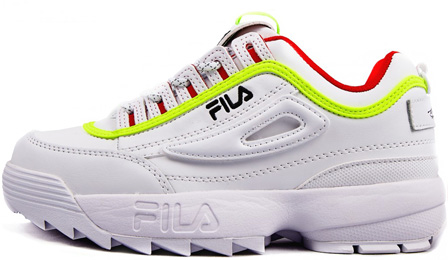 Fila Disruptor 2 White/Yellow