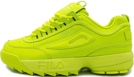 Fila Disruptor 2 Yellow Neon