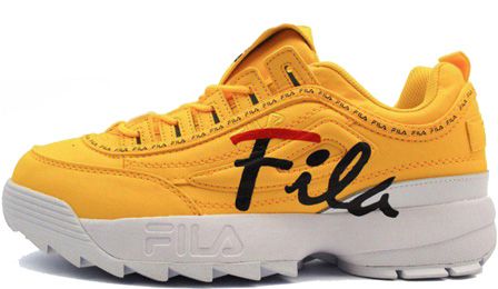 Fila Disruptor Yellow/White