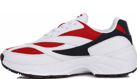 FILA Venom 94 Sneakers In White/Red